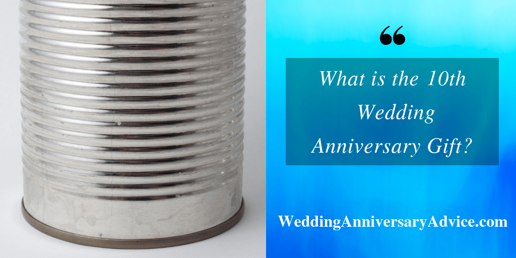 what is the 10th wedding anniversary gift