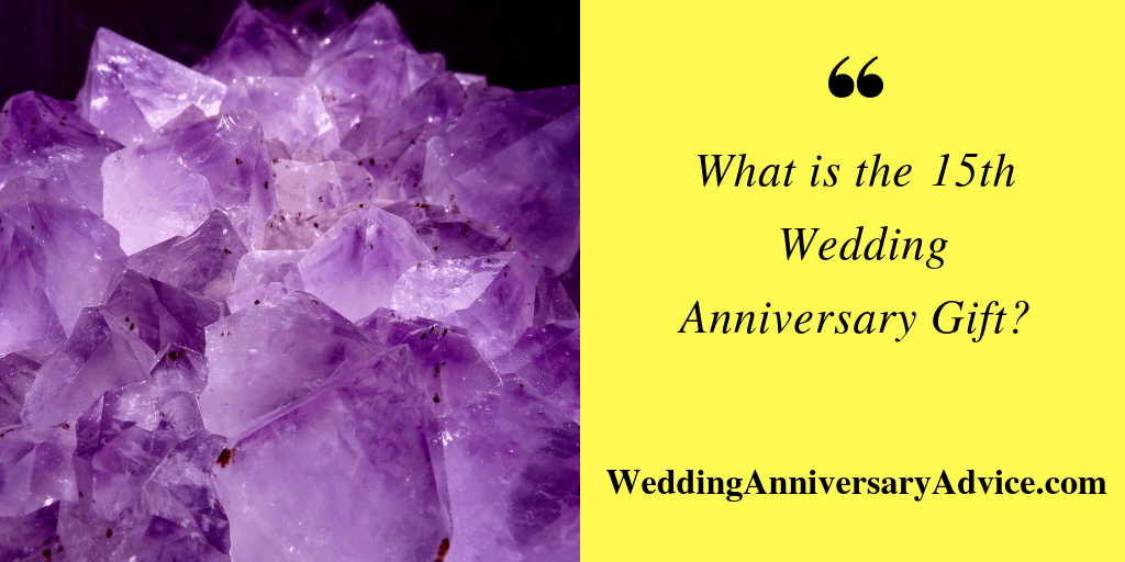 what is the 15th wedding anniversary