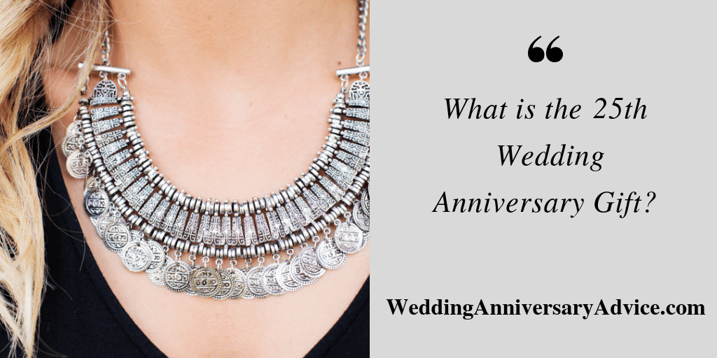what is the 25th wedding anniversary gift