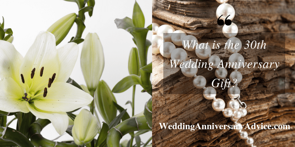 what is the 30th wedding anniversary gift