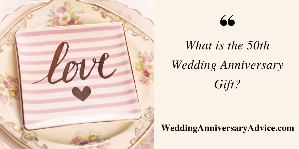 what is the 50th wedding anniversary gift