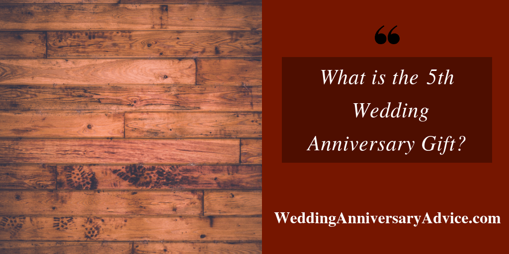 what is the 5th wedding anniversary gift