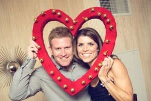 Photobooth idea for a wedding anniversary party