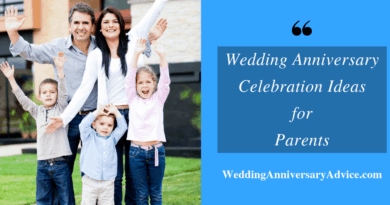 12 Creative anniversary celebration ideas for parents