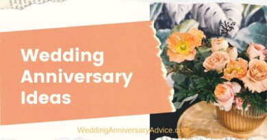 Wedding Anniversary Ideas
