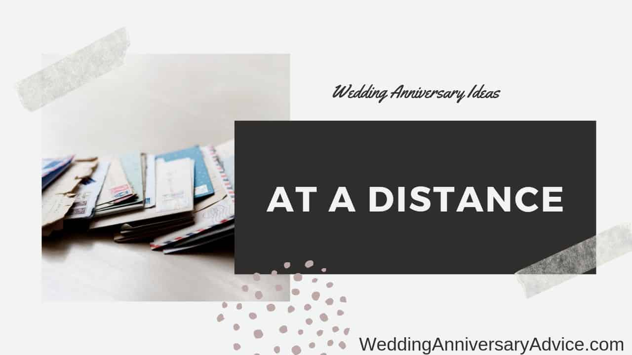 Wedding Anniversary Ideas At A Distance