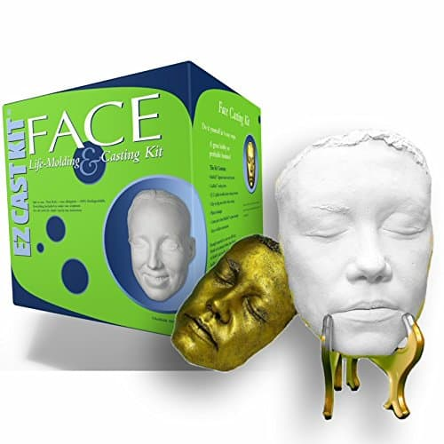 face or body casting kit for your anniversary