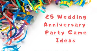 25 Games for a wedding anniversary party nobody will forget